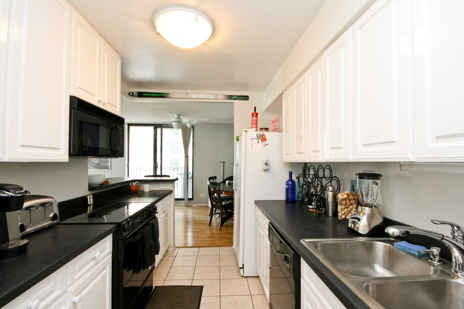 Real Estate Photography - 70 W Huron, Unit 1308, Chicago, IL, 60610 - Kitchen