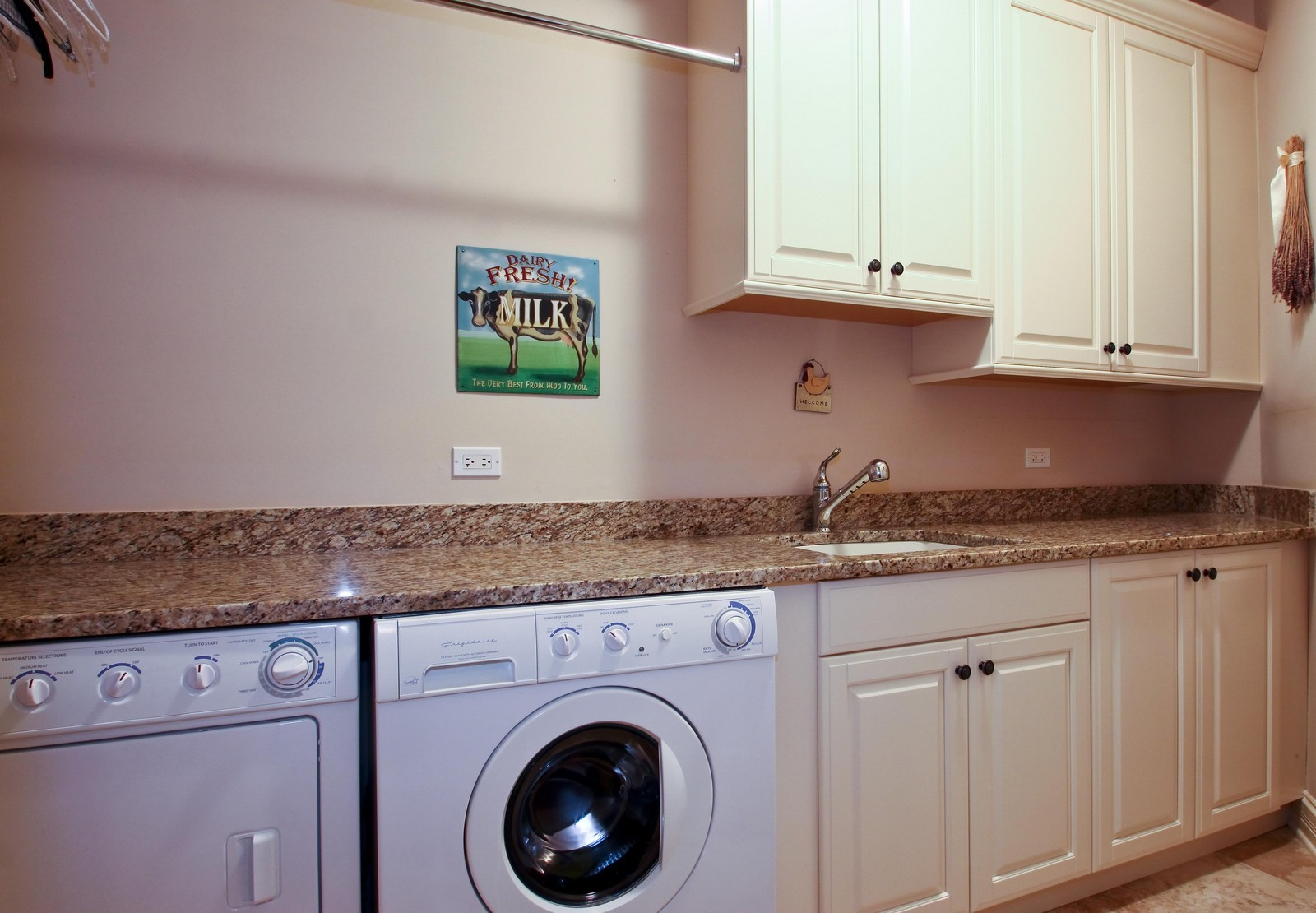 Real Estate Photography - 431 Adams Ave, Glencoe, IL, 60022 - Convenient 2nd Floor Laundry Room.
