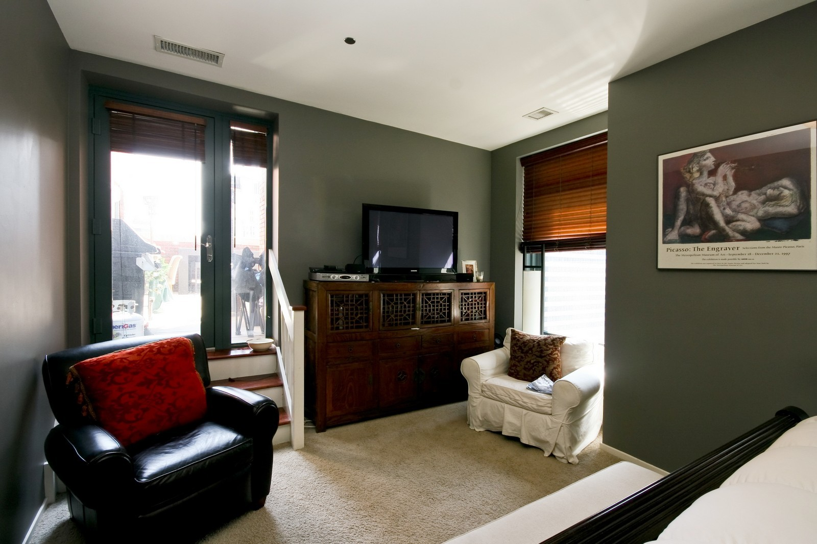 Real Estate Photography - 208 W Washington, Unit 2207, Chicago, IL, 60606 - Master Bedroom