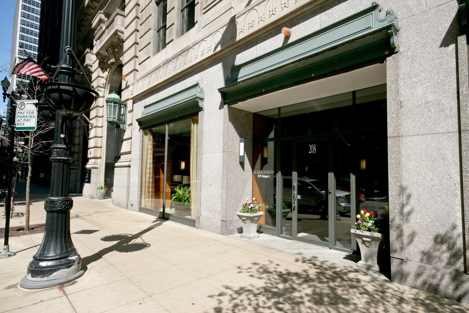 Real Estate Photography - 208 W Washington, Unit 2207, Chicago, IL, 60606 - Front View