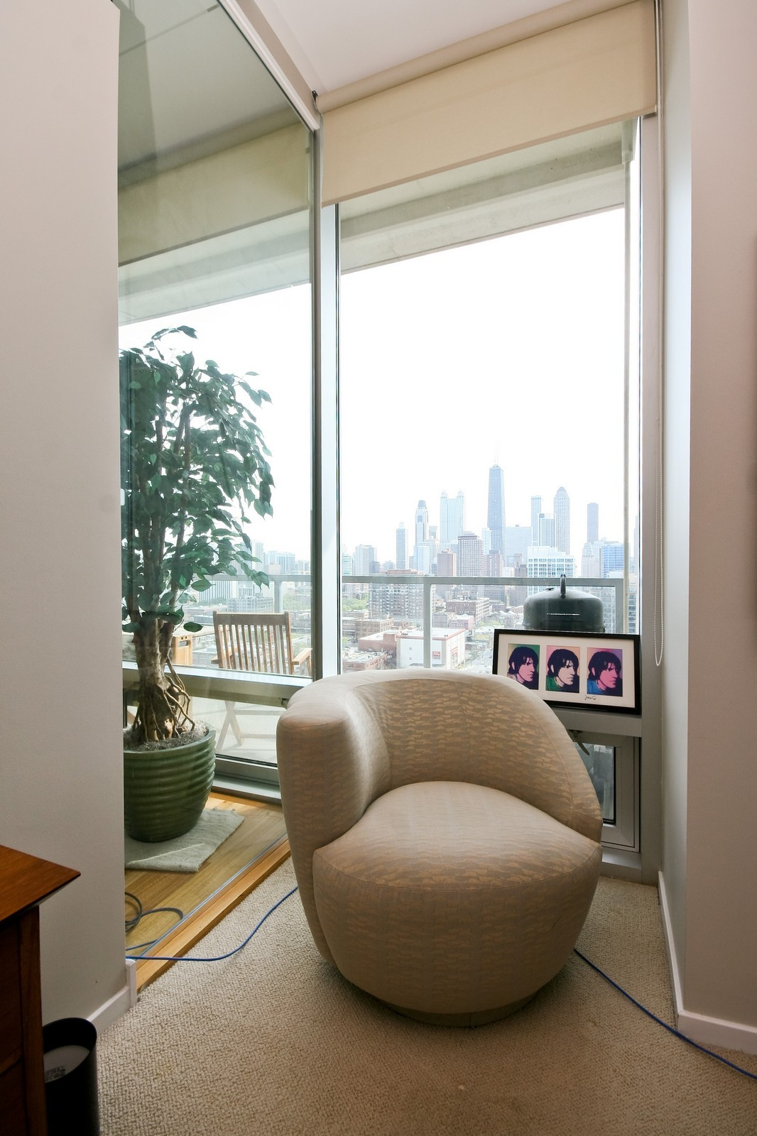Real Estate Photography - 500 W Superior, Unit 1713, Chicago, IL, 60654 - View