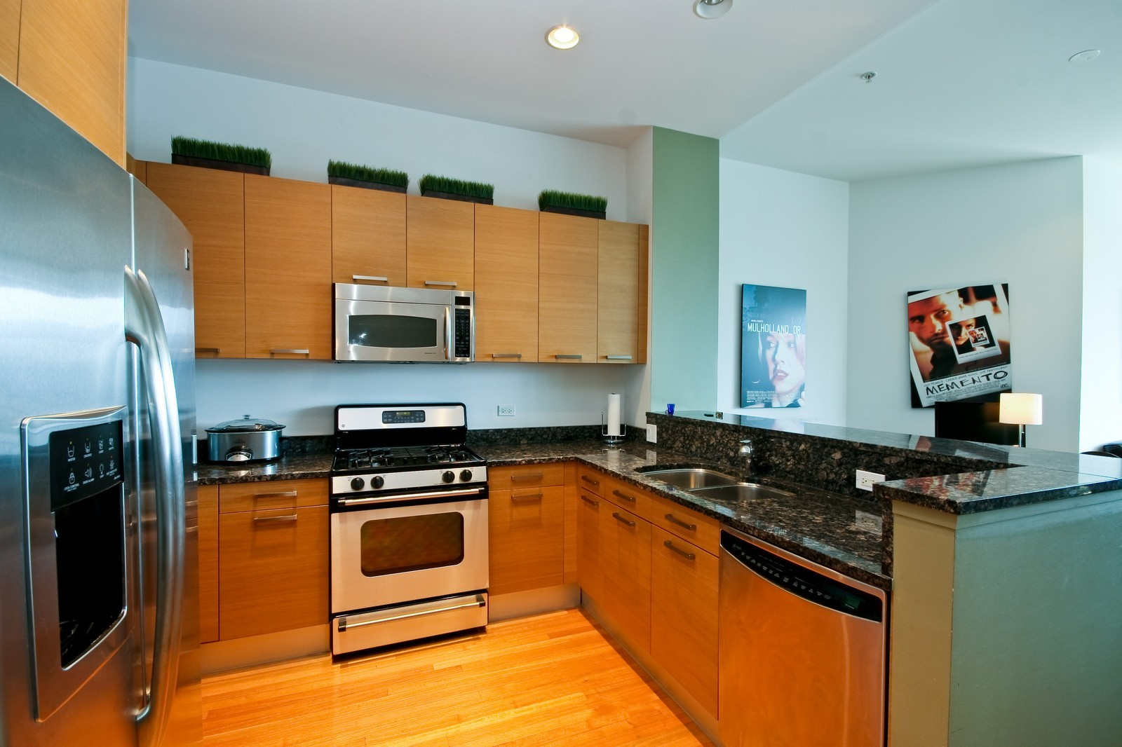 Real Estate Photography - 500 W Superior, Unit 1713, Chicago, IL, 60654 - Kitchen
