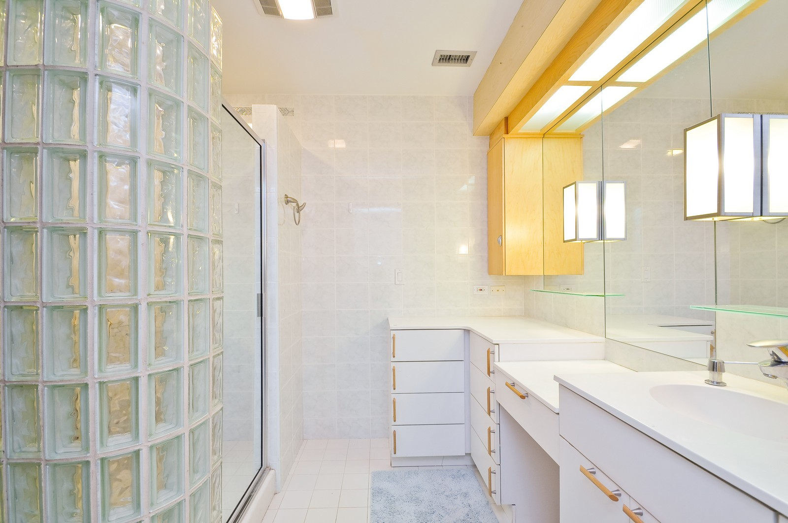 Real Estate Photography - 4545 Touhy, Unit 516, Lincolnwood, IL, 60712 - Master Bathroom
