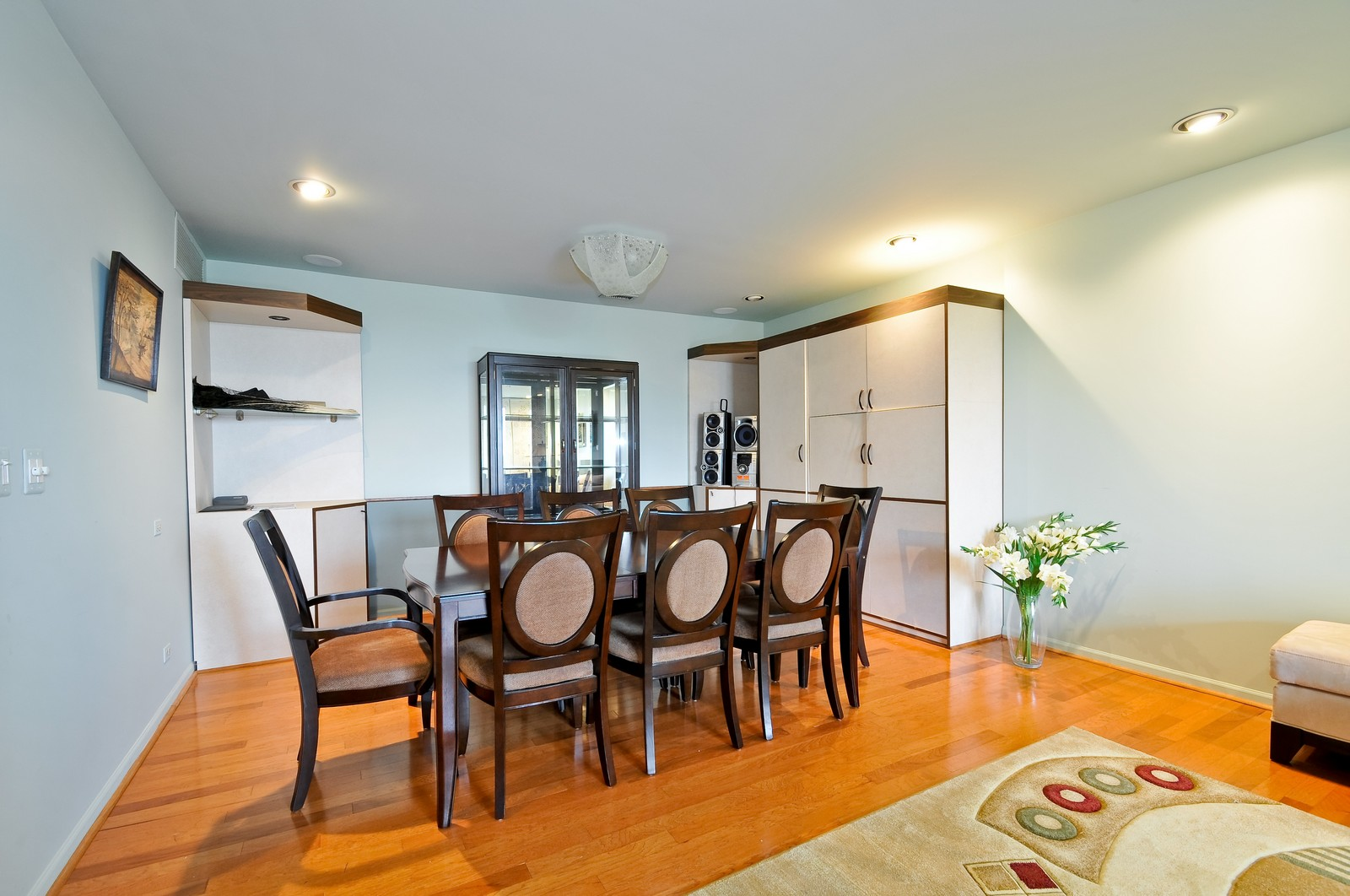 Real Estate Photography - 4545 Touhy, Unit 516, Lincolnwood, IL, 60712 - Dining Room