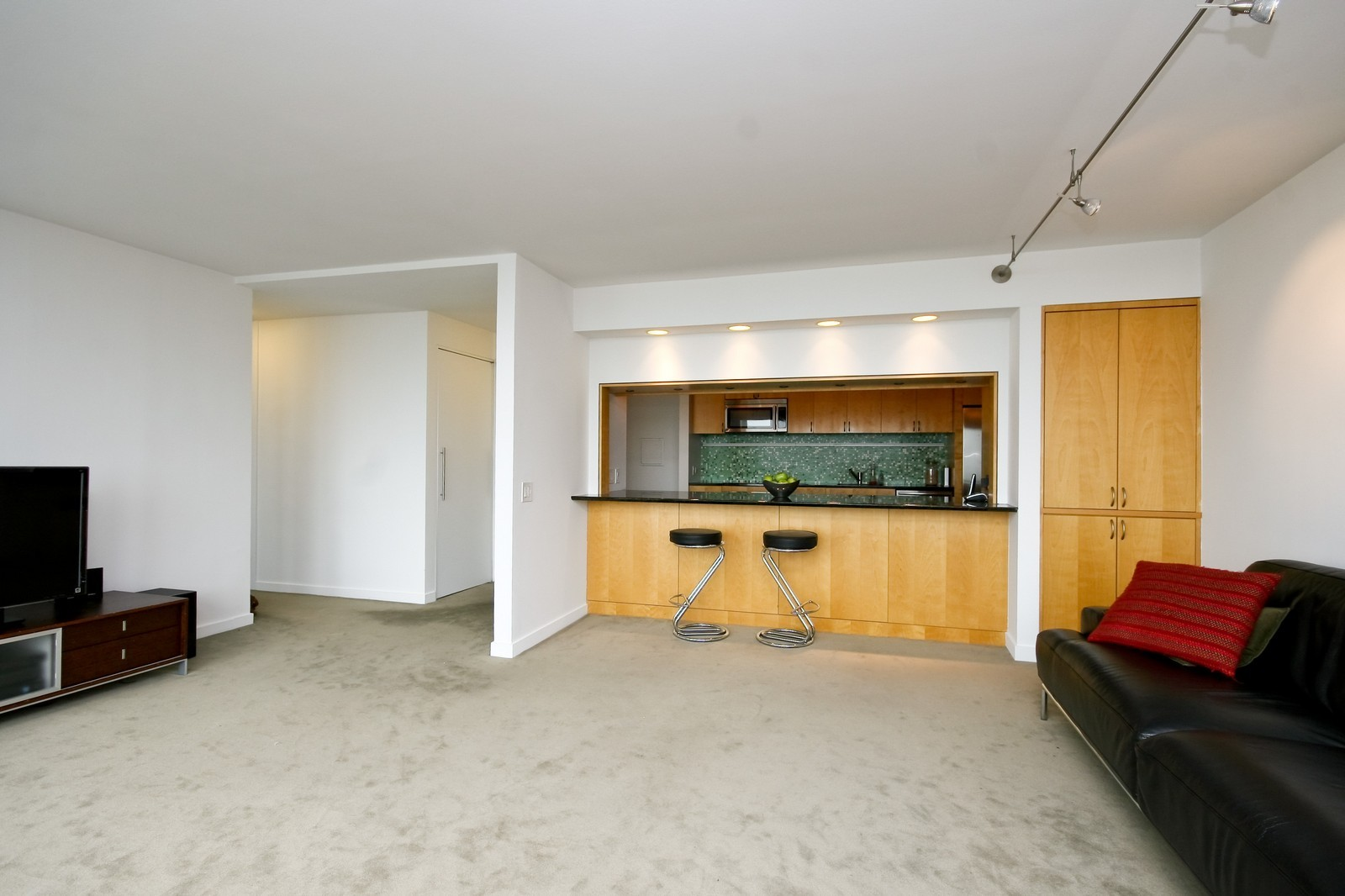 Real Estate Photography - 330 W Diversey, Unit 2308, Chicago, IL, 60657 - Living Room