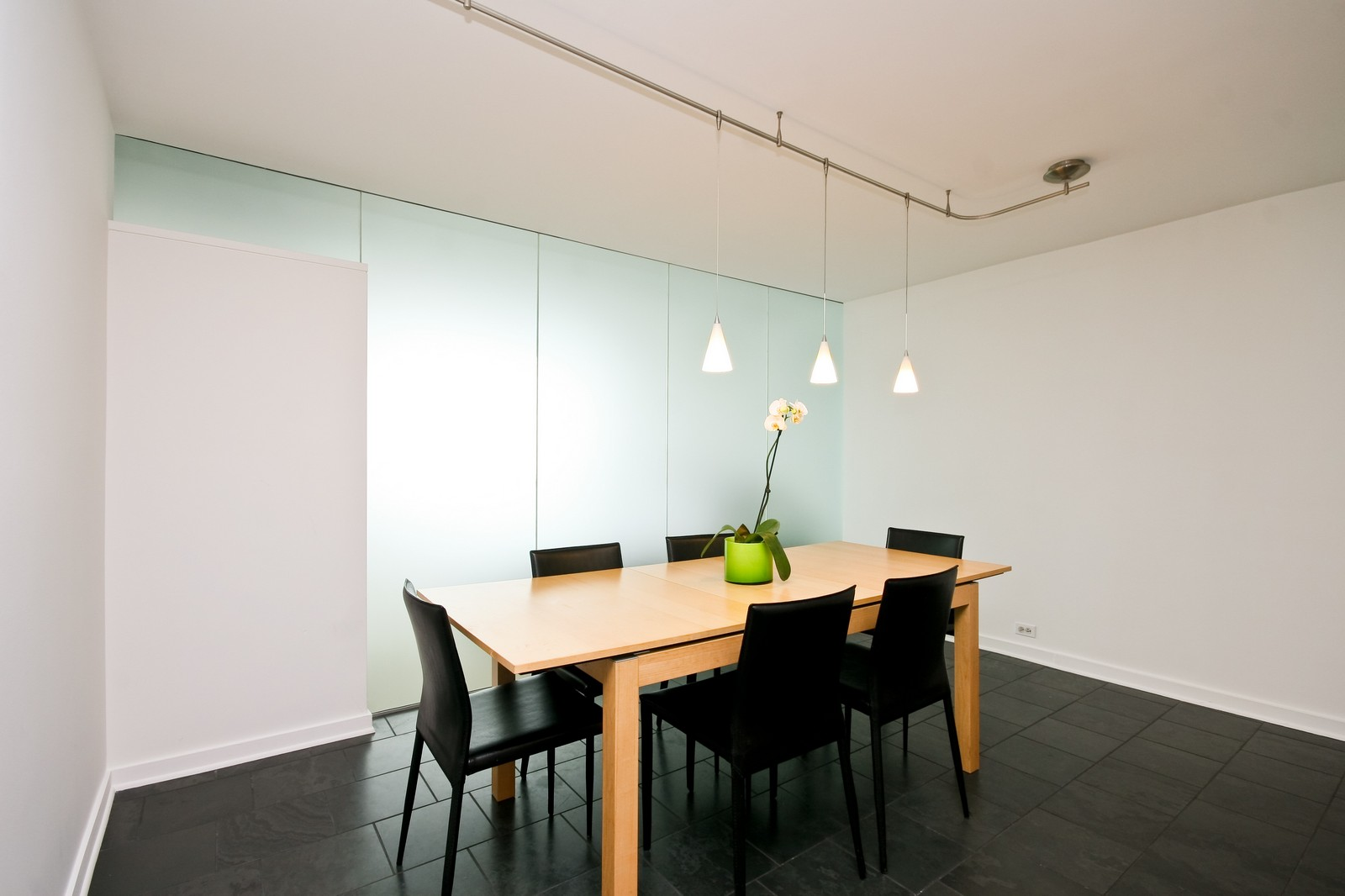 Real Estate Photography - 330 W Diversey, Unit 2308, Chicago, IL, 60657 - Dining Room
