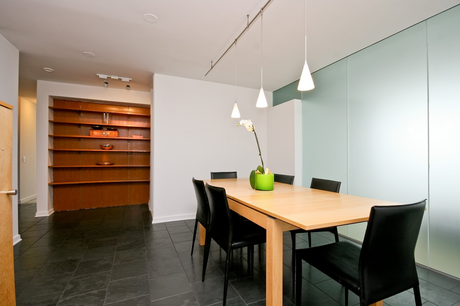 Real Estate Photography - 330 W Diversey, Unit 2308, Chicago, IL, 60657 - Dining Area