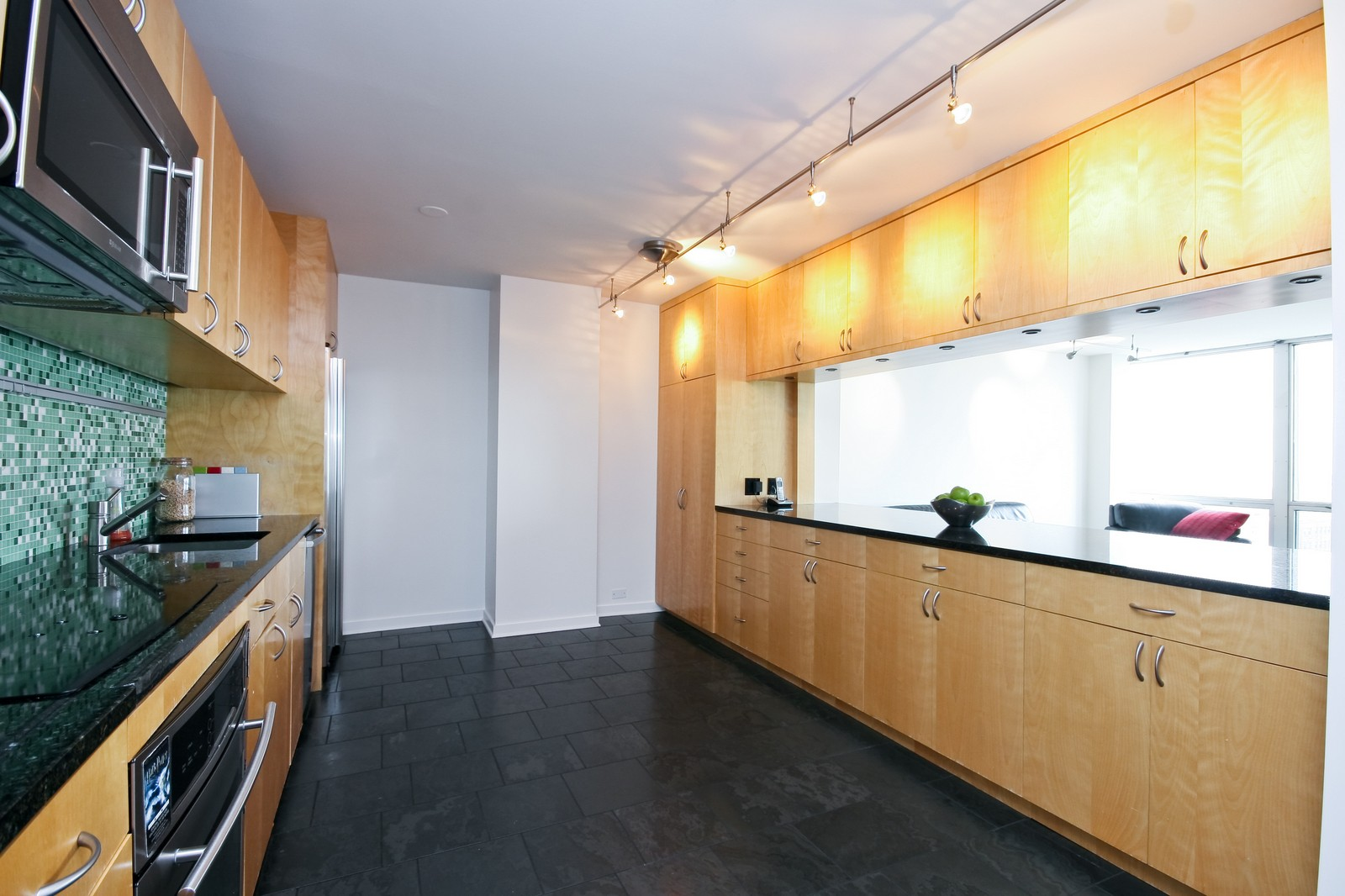Real Estate Photography - 330 W Diversey, Unit 2308, Chicago, IL, 60657 - Kitchen
