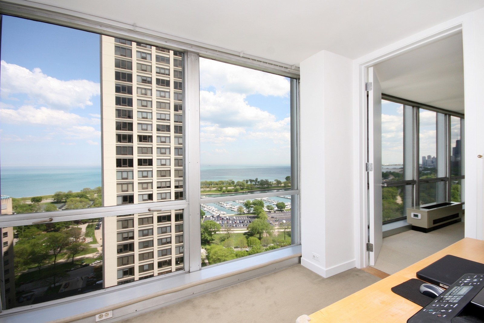 Real Estate Photography - 330 W Diversey, Unit 2308, Chicago, IL, 60657 - Office