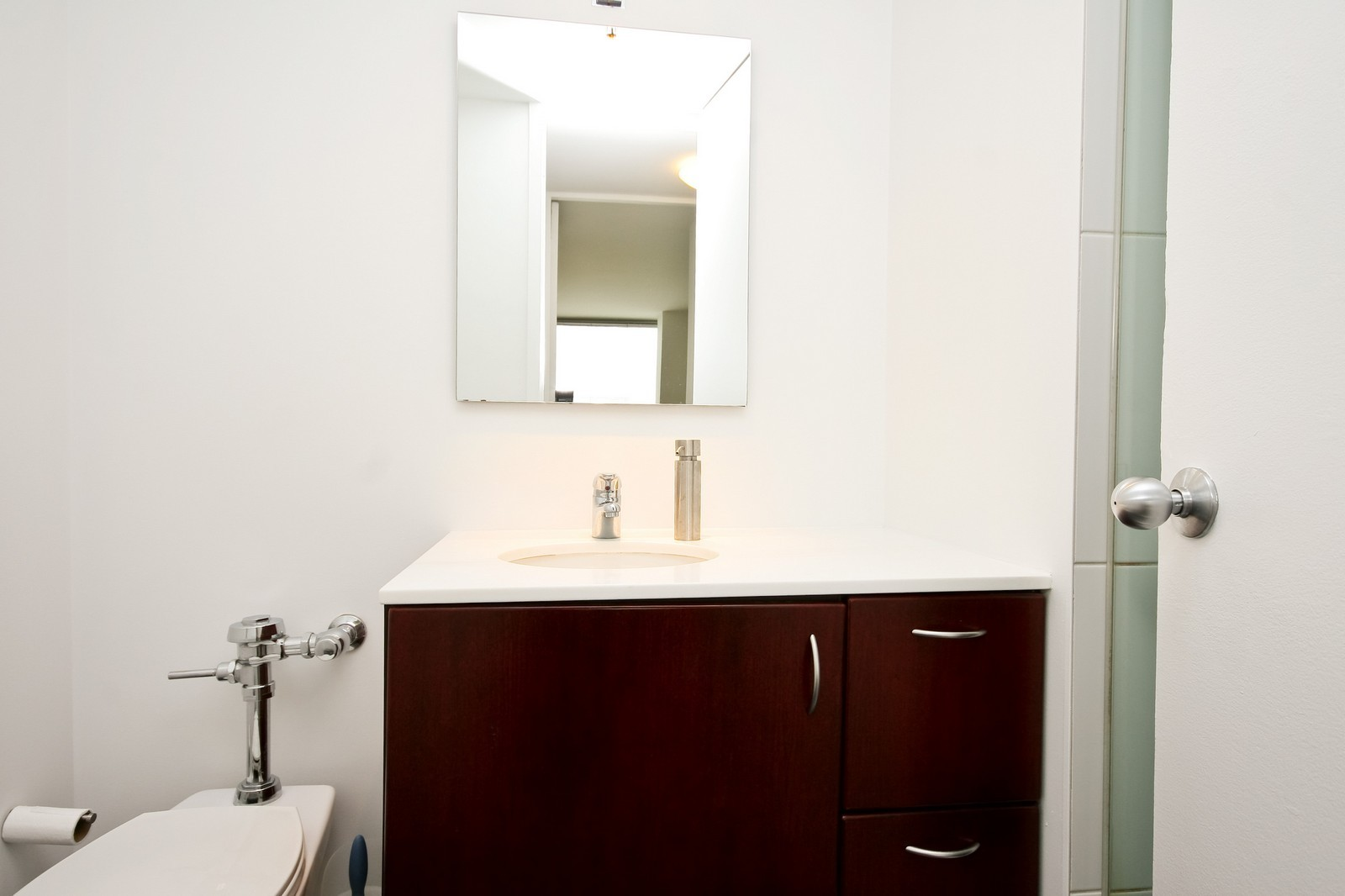 Real Estate Photography - 330 W Diversey, Unit 2308, Chicago, IL, 60657 - Bathroom
