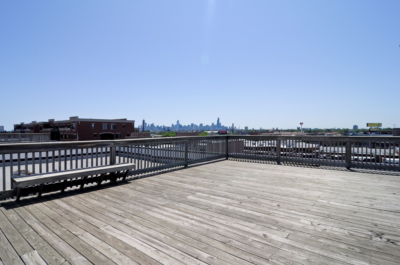 Real Estate Photography - 2317 W Wolfram, Unit 514, Chicago, IL, 60618 - Roof Deck