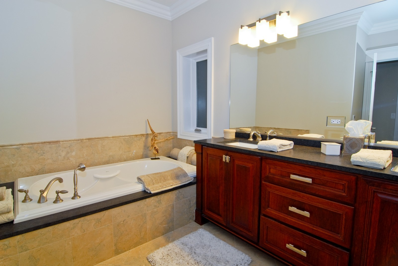 Real Estate Photography - 2663 N Burling, Chicago, IL, 60614 - Master Bathroom