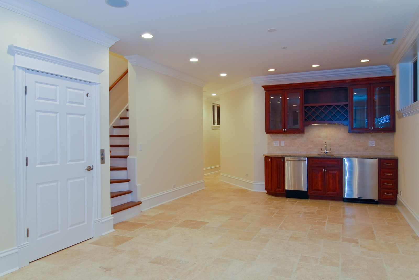 Real Estate Photography - 2663 N Burling, Chicago, IL, 60614 - Lower Level