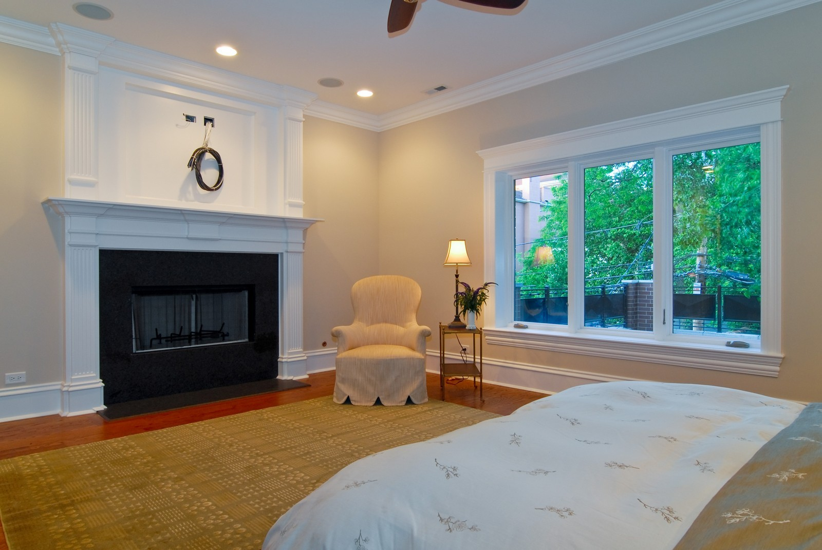 Real Estate Photography - 2663 N Burling, Chicago, IL, 60614 - Master Bedroom