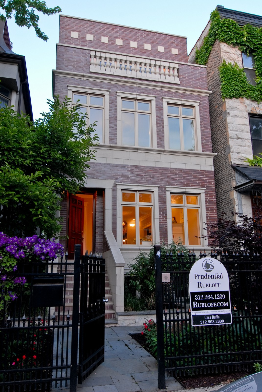Real Estate Photography - 2663 N Burling, Chicago, IL, 60614 - Front View
