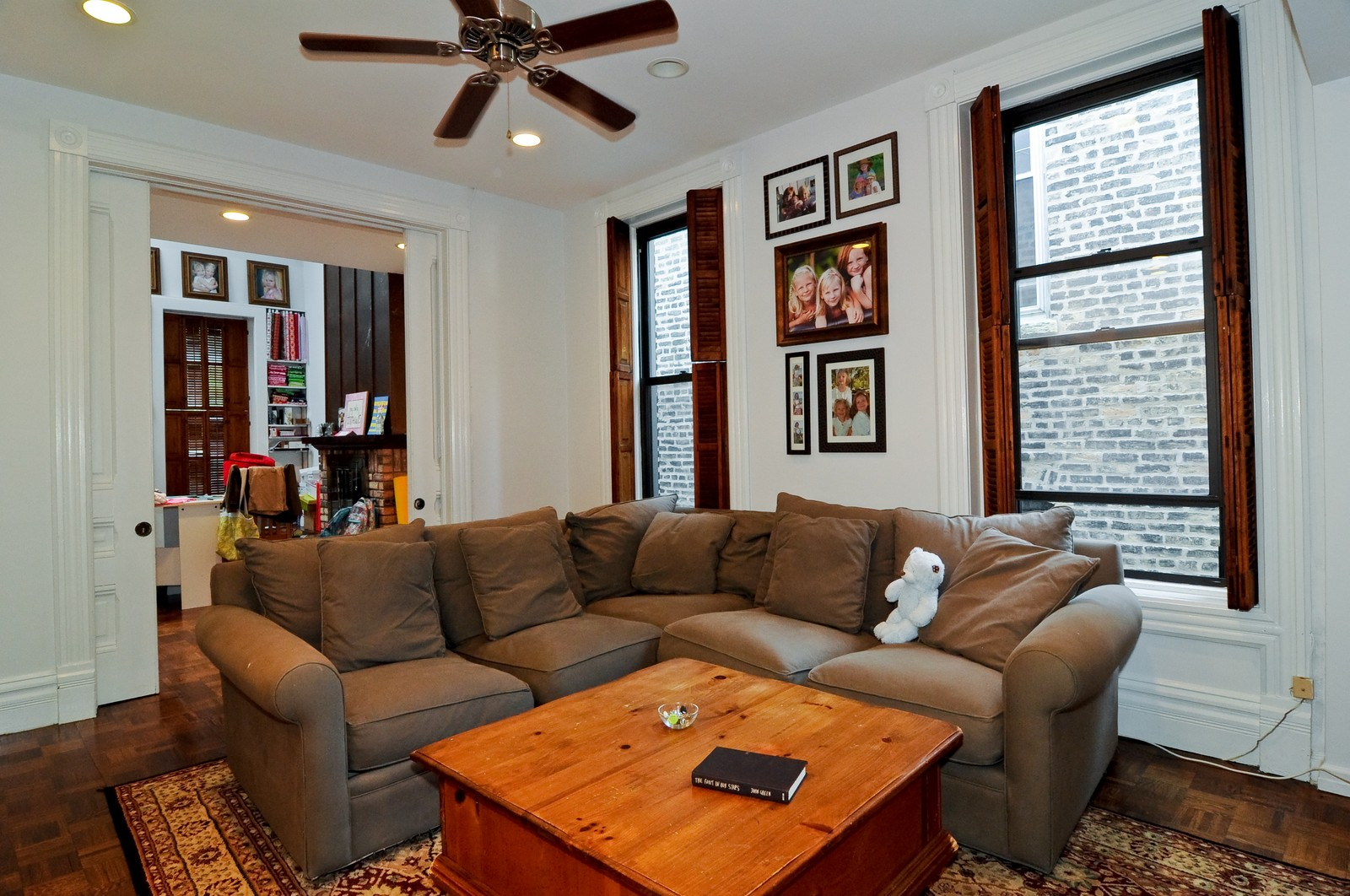 Real Estate Photography - 2030 N Orleans, Chicago, IL, 60614 - Family Room