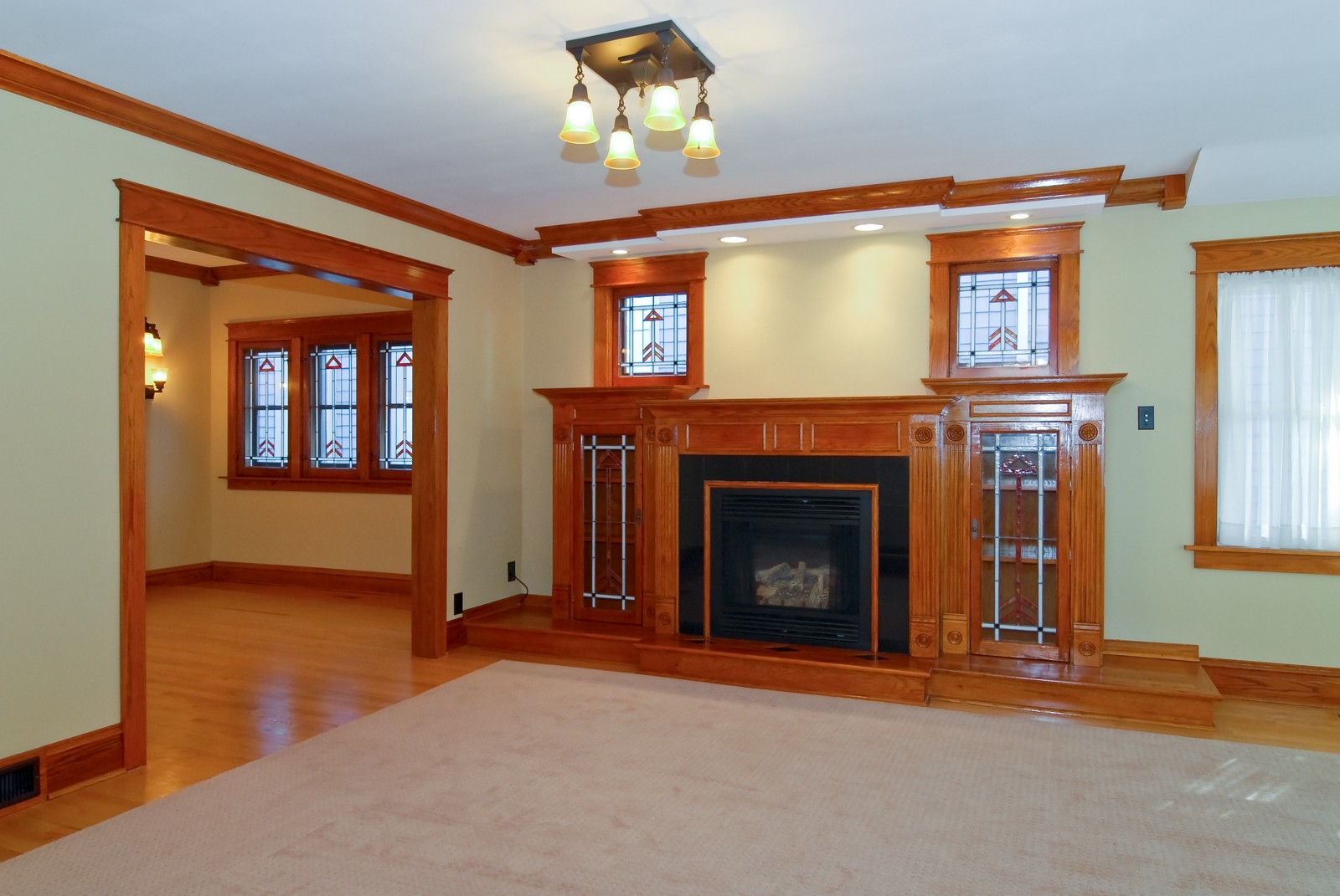 Real Estate Photography - 5334 W Cuyler, Chicago, IL, 60641 - Living Room