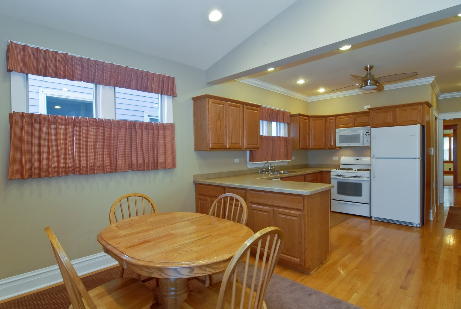Real Estate Photography - 5334 W Cuyler, Chicago, IL, 60641 - Kitchen / Breakfast Room