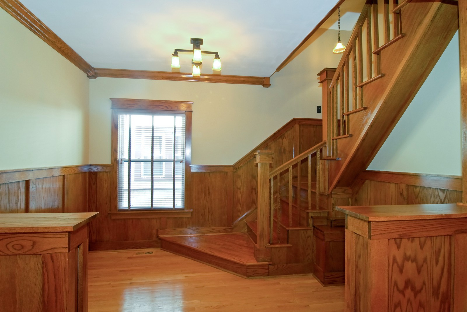 Real Estate Photography - 5334 W Cuyler, Chicago, IL, 60641 - Foyer