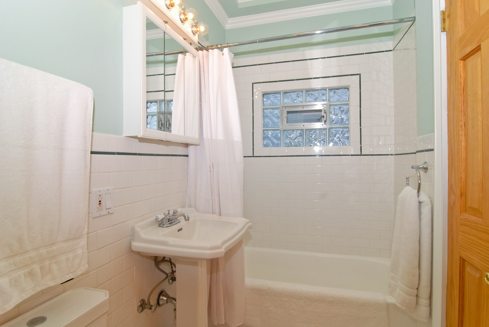 Real Estate Photography - 5334 W Cuyler, Chicago, IL, 60641 - Bathroom