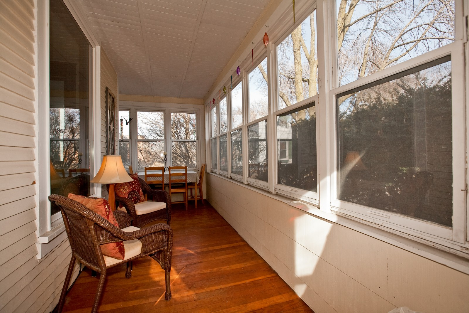 Real Estate Photography - 4540 Main St, Downers Grove, IL, 60515 - Porch