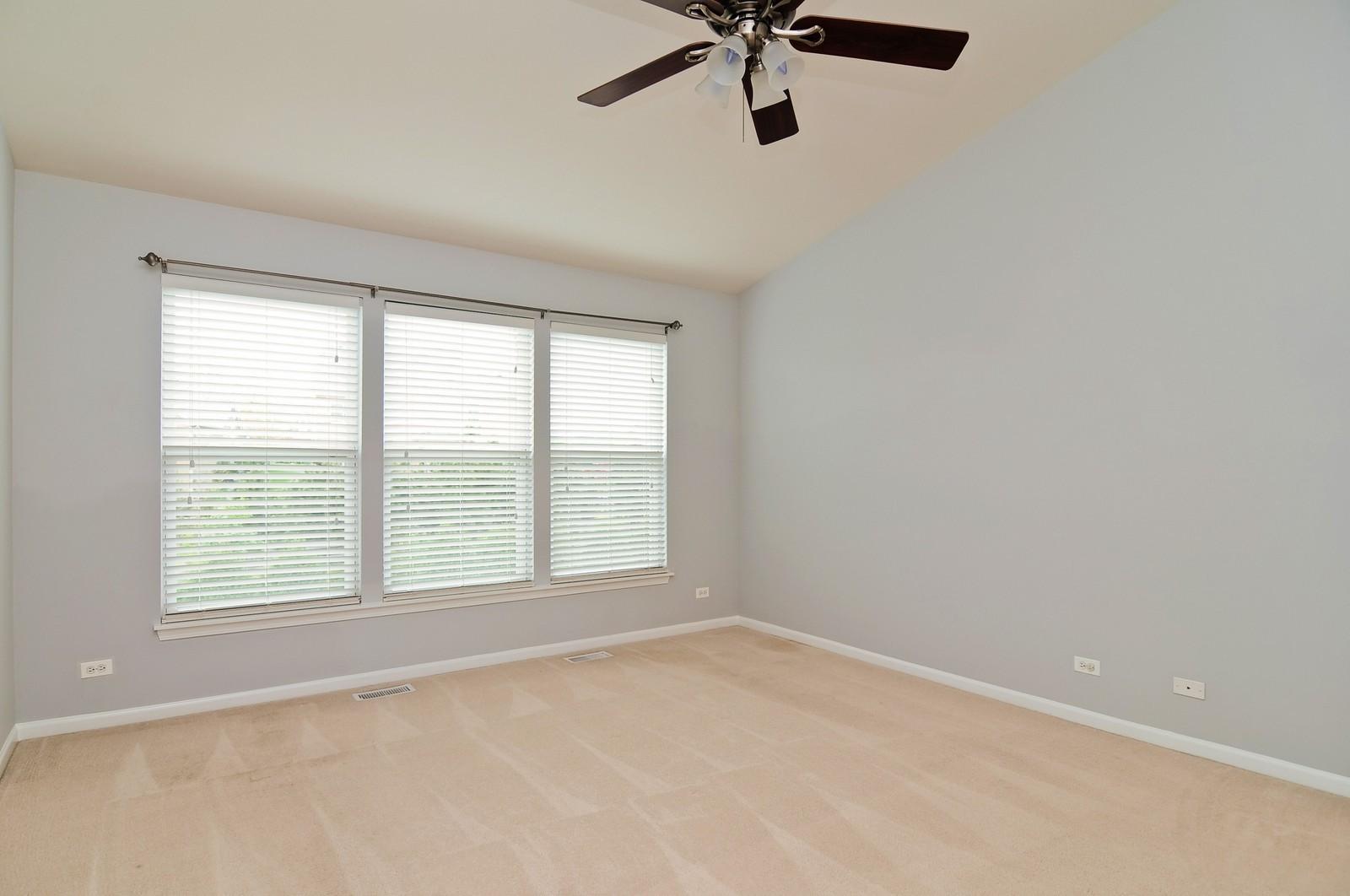 Real Estate Photography - 1580 McClellan Dr., Lindenhurst, IL, 60046 - Master Bedroom