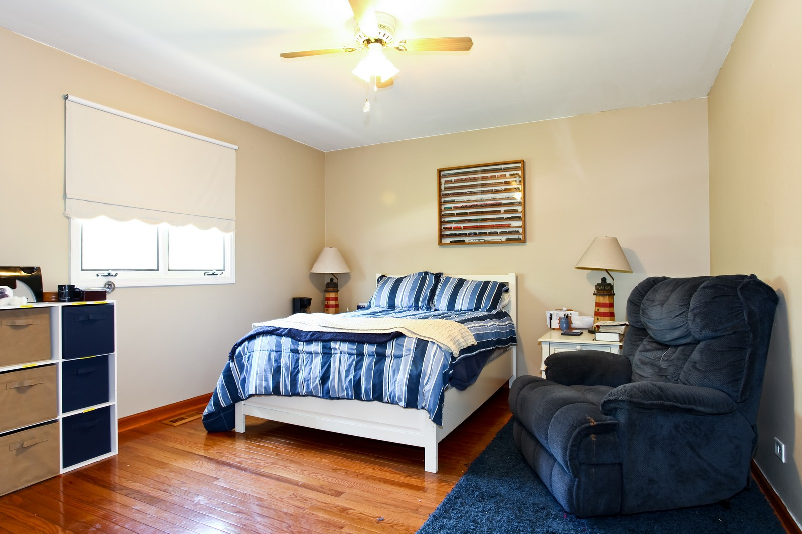 Real Estate Photography - 26W464 Cooley, Winfield, IL, 60190 - Master Bedroom