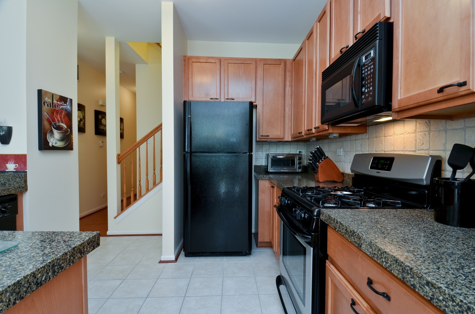 Real Estate Photography - 3025 Pleasant Plains Drive, St. Charles, IL, 60175 - Kitchen