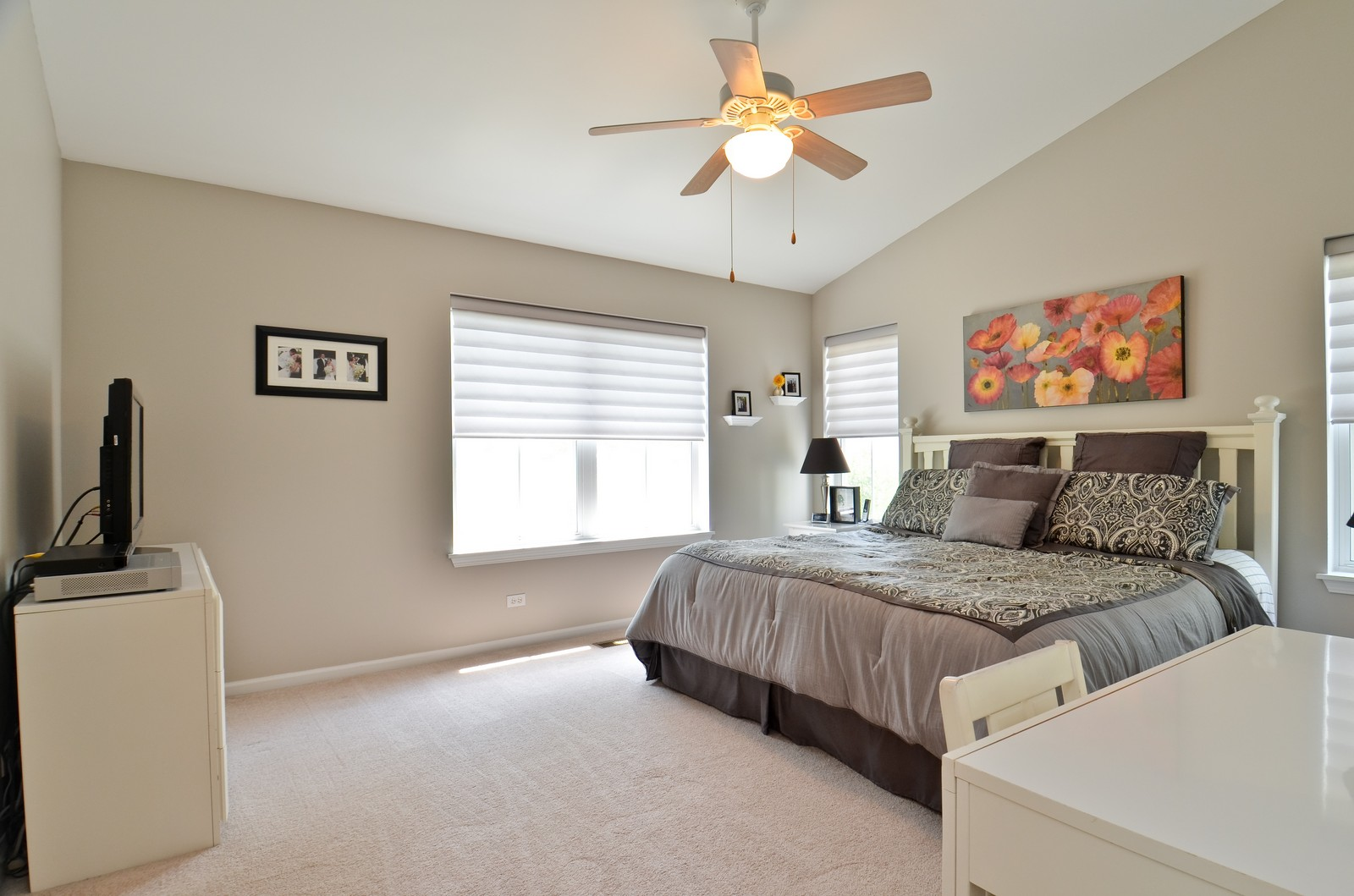 Real Estate Photography - 3025 Pleasant Plains Drive, St. Charles, IL, 60175 - Master Bedroom