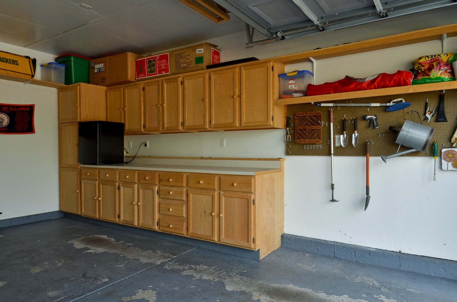 Real Estate Photography - 3025 Pleasant Plains Drive, St. Charles, IL, 60175 - Garage