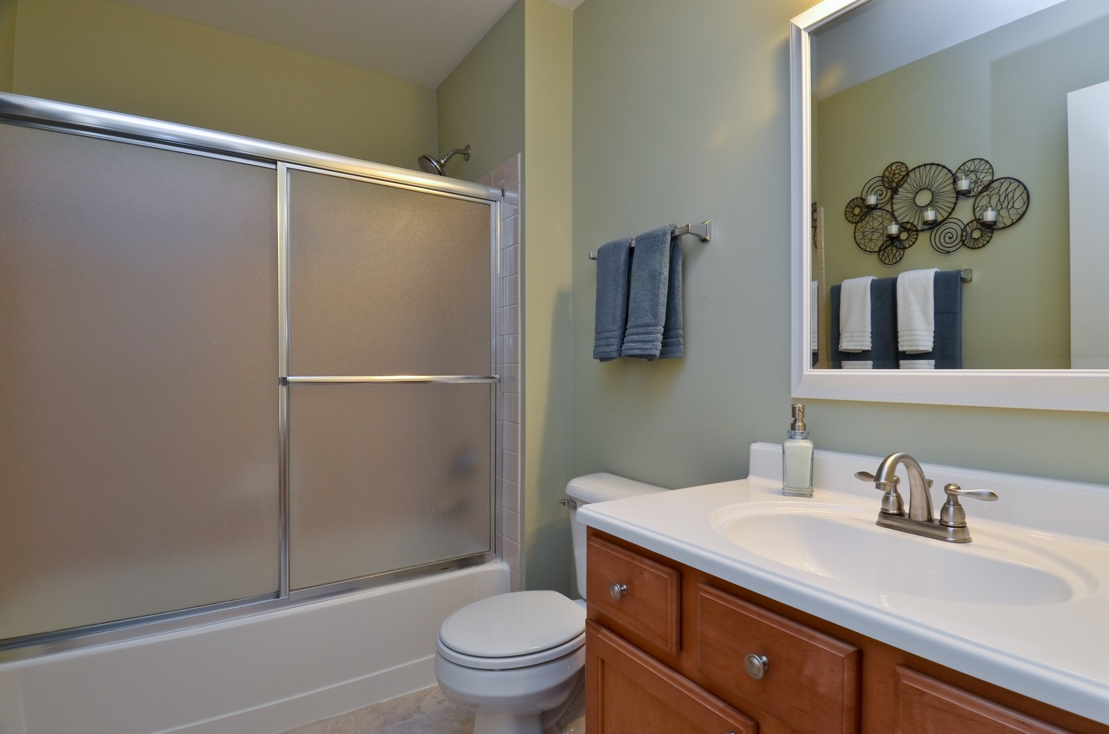 Real Estate Photography - 3025 Pleasant Plains Drive, St. Charles, IL, 60175 - Bathroom
