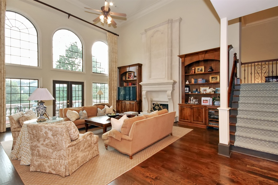 Real Estate Photography - 2680 Sugarloaf Club, Duluth, GA, 30097 - Living Room