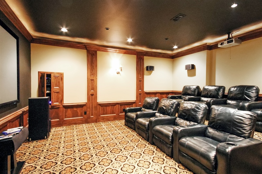 Real Estate Photography - 2680 Sugarloaf Club, Duluth, GA, 30097 - Theater