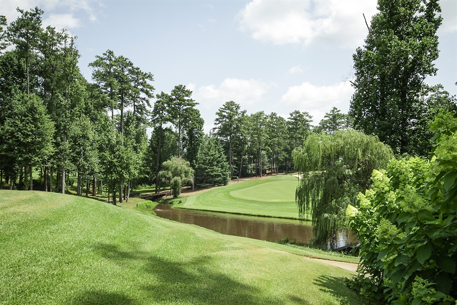 Real Estate Photography - 2853 Thurleston Lane, Duluth, GA, 30097 - Golf Course