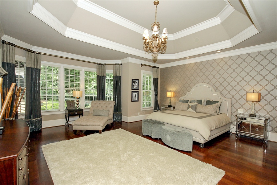 Real Estate Photography - 2853 Thurleston Lane, Duluth, GA, 30097 - Master Bedroom