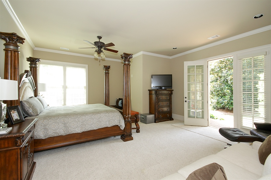 Real Estate Photography - 2853 Thurleston Lane, Duluth, GA, 30097 - Guest Bedroom