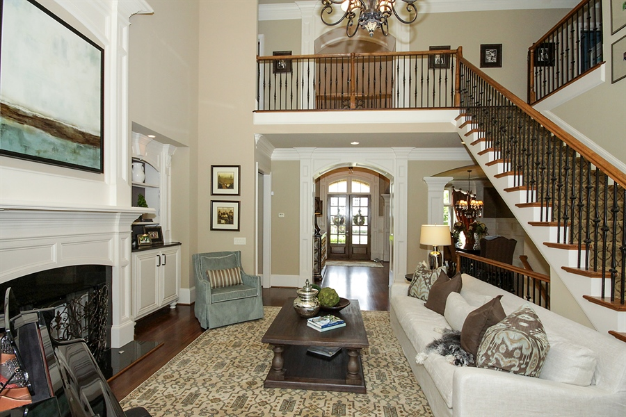 Real Estate Photography - 2853 Thurleston Lane, Duluth, GA, 30097 - Living Room