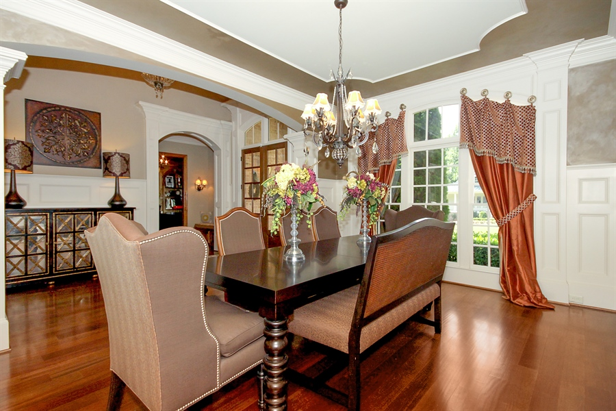 Real Estate Photography - 2853 Thurleston Lane, Duluth, GA, 30097 - Dining Room