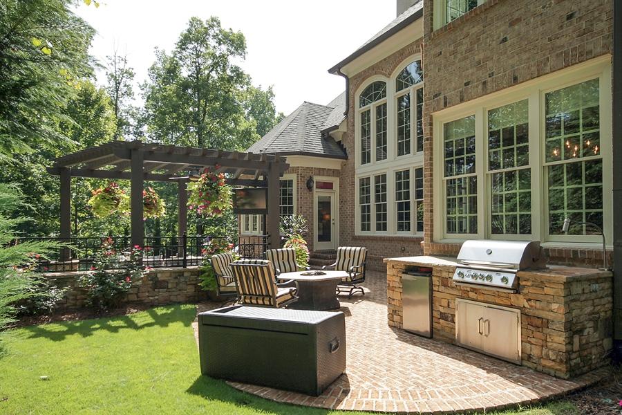Real Estate Photography - 2853 Thurleston Lane, Duluth, GA, 30097 - Back Yard
