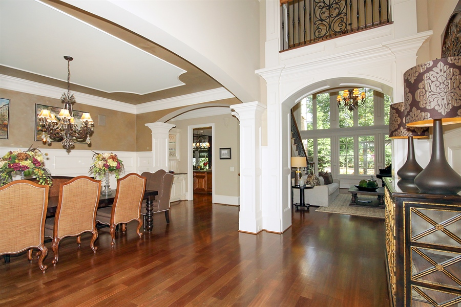 Real Estate Photography - 2853 Thurleston Lane, Duluth, GA, 30097 - Foyer