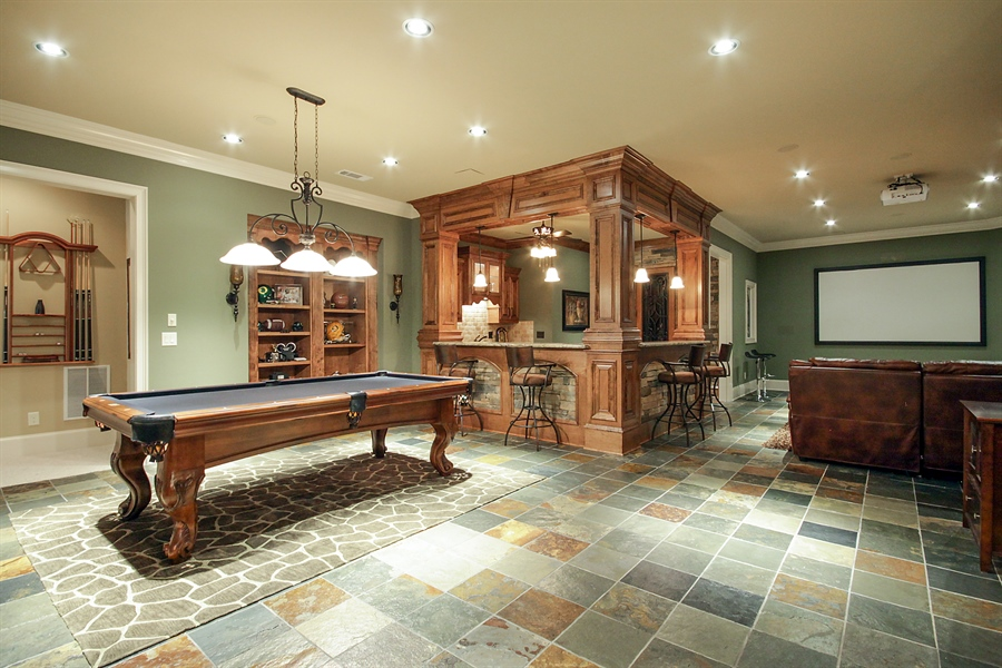 Real Estate Photography - 2853 Thurleston Lane, Duluth, GA, 30097 - Game Room