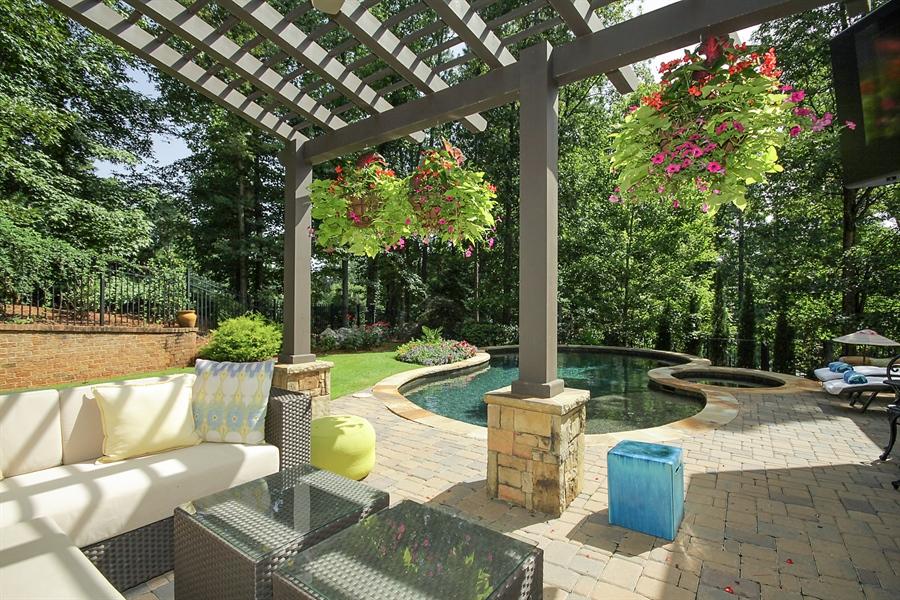 Real Estate Photography - 2853 Thurleston Lane, Duluth, GA, 30097 - Outdoor Pool