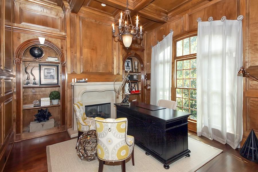 Real Estate Photography - 2853 Thurleston Lane, Duluth, GA, 30097 - Study