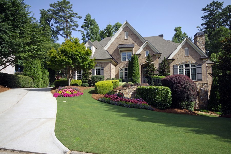 Real Estate Photography - 2853 Thurleston Lane, Duluth, GA, 30097 - Front View