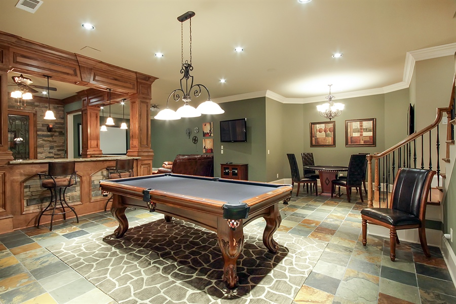 Real Estate Photography - 2853 Thurleston Lane, Duluth, GA, 30097 - Pool Room