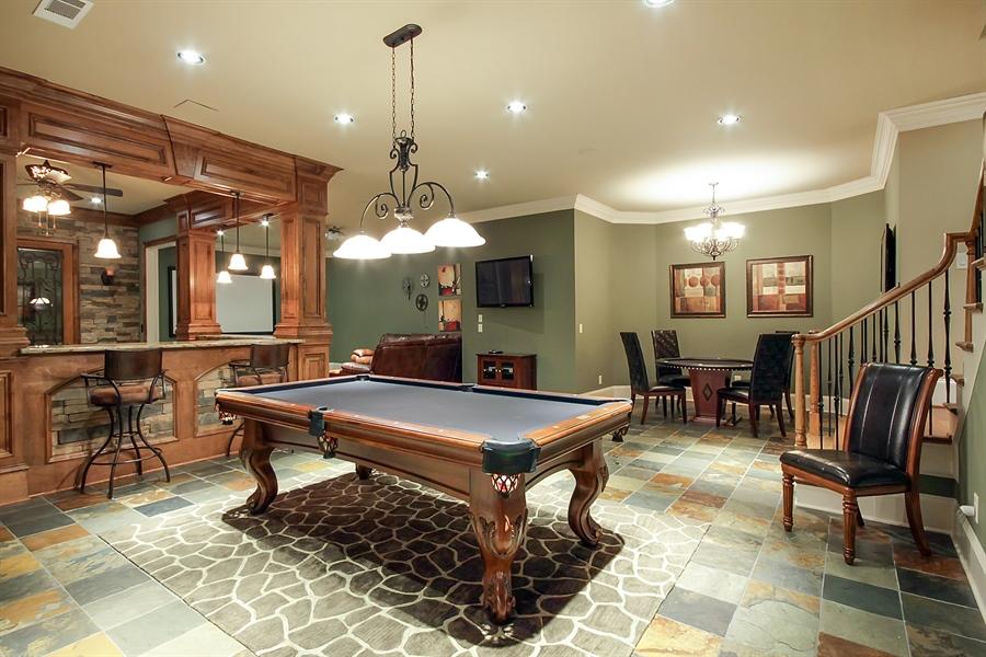Real Estate Photography - 2853 Thurleston Lane, Duluth, GA, 30097 - Pool Room