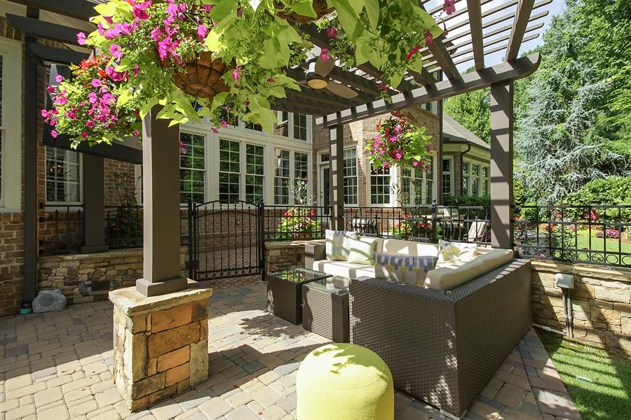 Real Estate Photography - 2853 Thurleston Lane, Duluth, GA, 30097 - Lanai