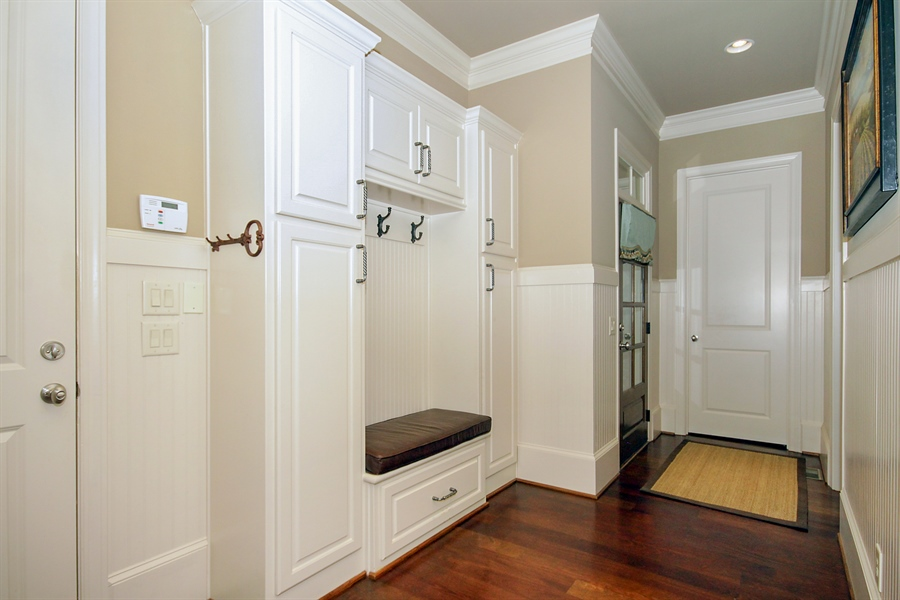 Real Estate Photography - 2853 Thurleston Lane, Duluth, GA, 30097 - Mudroom
