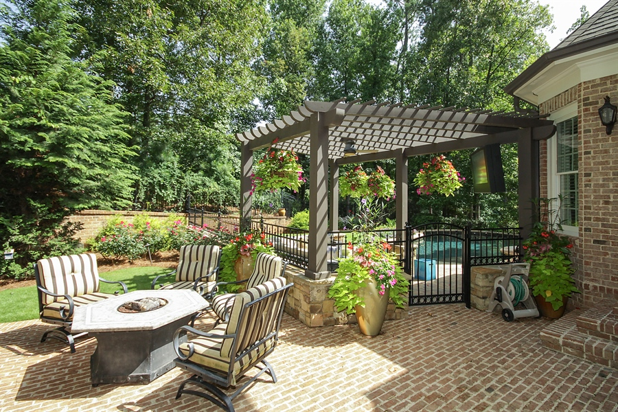 Real Estate Photography - 2853 Thurleston Lane, Duluth, GA, 30097 - Patio