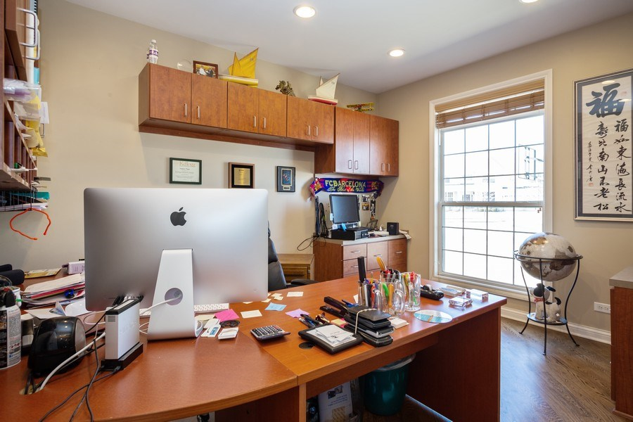 Real Estate Photography - 449 Birmingham Ln, Schaumburg, IL, 60193 - Office